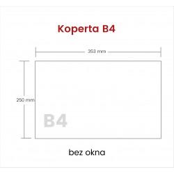 Koperta B4 HK bez okna 750...