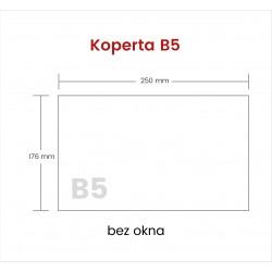 Koperta B5 HK bez okna 1000...
