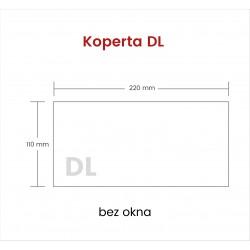 Koperta DL NK bez okna 1500...