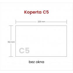 Koperta C5 SP bez okna 1000...