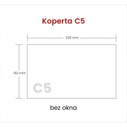 Koperta C5 HK bez okna 5000...